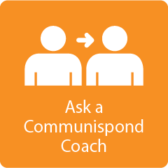 Ask a Communispond Coach Tile