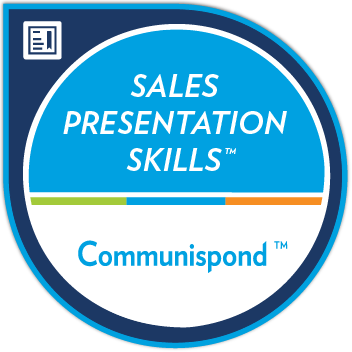Sales Presentation Skills Certification Badge