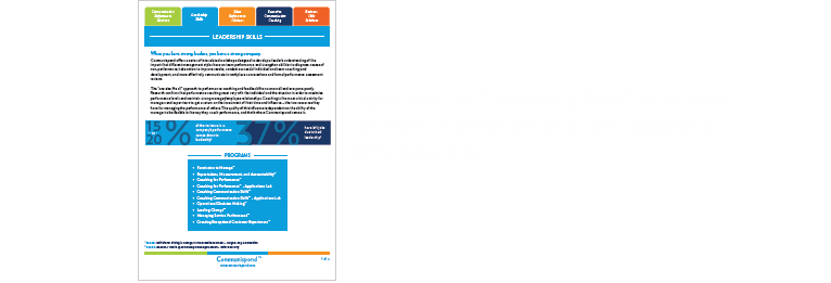 Download the leadership skills sales sheet
